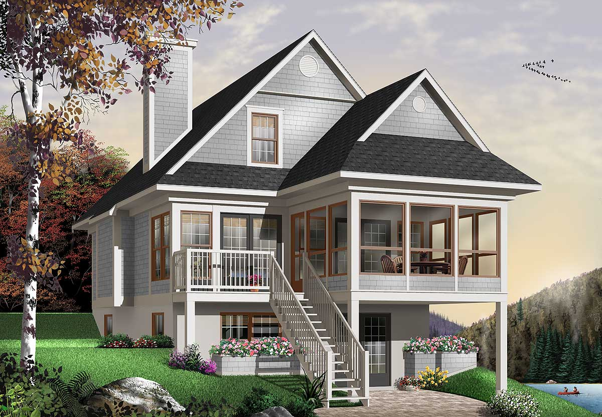 Four Seasons Sloping Lot Cottage 2107dr 1st Floor