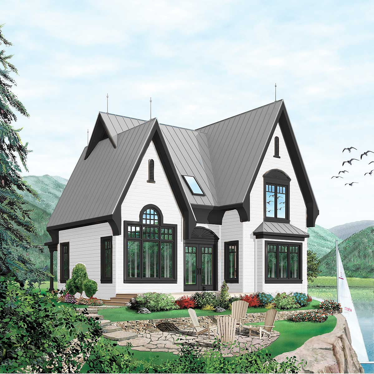 vacation house plans adorable vacation cottage 21127dr architectural 15310