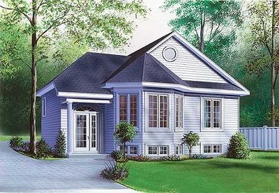 Split-Level with Bay Window - 21135DR thumb - 01