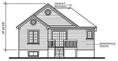 Split-Level with Bay Window - 21135DR thumb - 02
