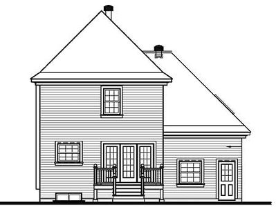 Bay windows and victorian detailing 21145dr for House plans with bay windows