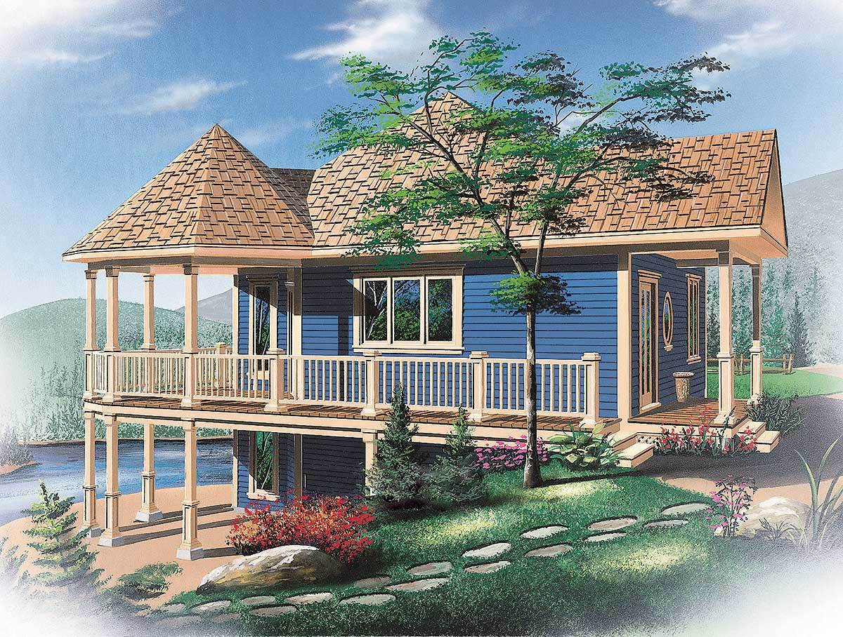 Vacation home or primary residence 21183dr for Vacation home house plans