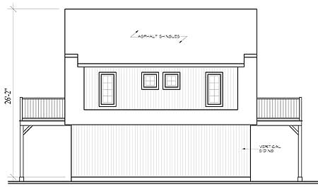 Compact Carriage House Plan 21204dr 2nd Floor Master