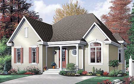 Three Bedroom House economical three bedroom house plan - 21212dr | architectural