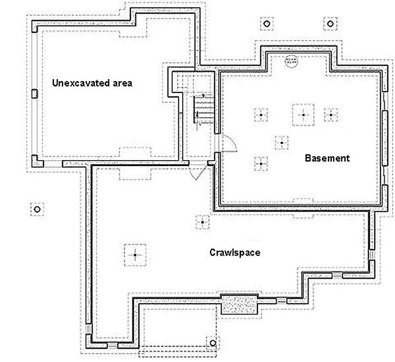 Windows On The World - 2122DR floor plan - Basement