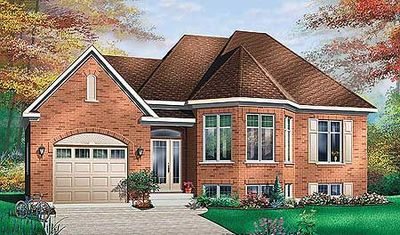 Split-level with Bay Window - 21235DR thumb - 01