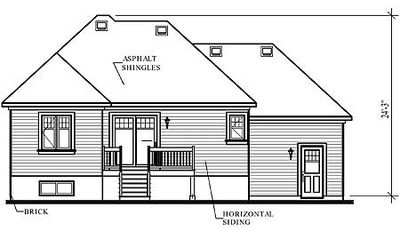 Split-level with Bay Window - 21235DR thumb - 02