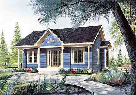 bedroom cottage house plan 21255dr 1st floor master suite cad