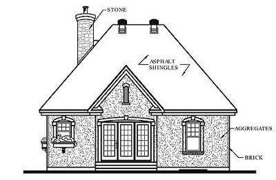 Stone Cottage with Options - 21279DR thumb - 02
