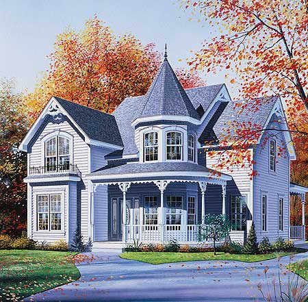Modern victorian house plans house design plans for Victorian home plans