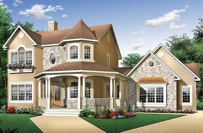 Victorian with Appealing Veranda - 2142DR thumb - 02