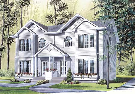 Circle top windows 21422dr architectural designs for Circle house plans