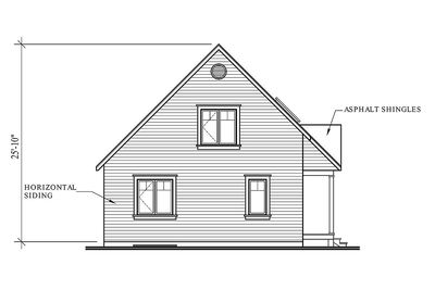 Country Cottage with Wrap-Around Porch - 21492DR thumb - 05