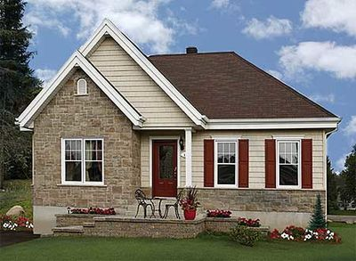 Classic cottage with options 21499dr architectural for Classic cottage house plans