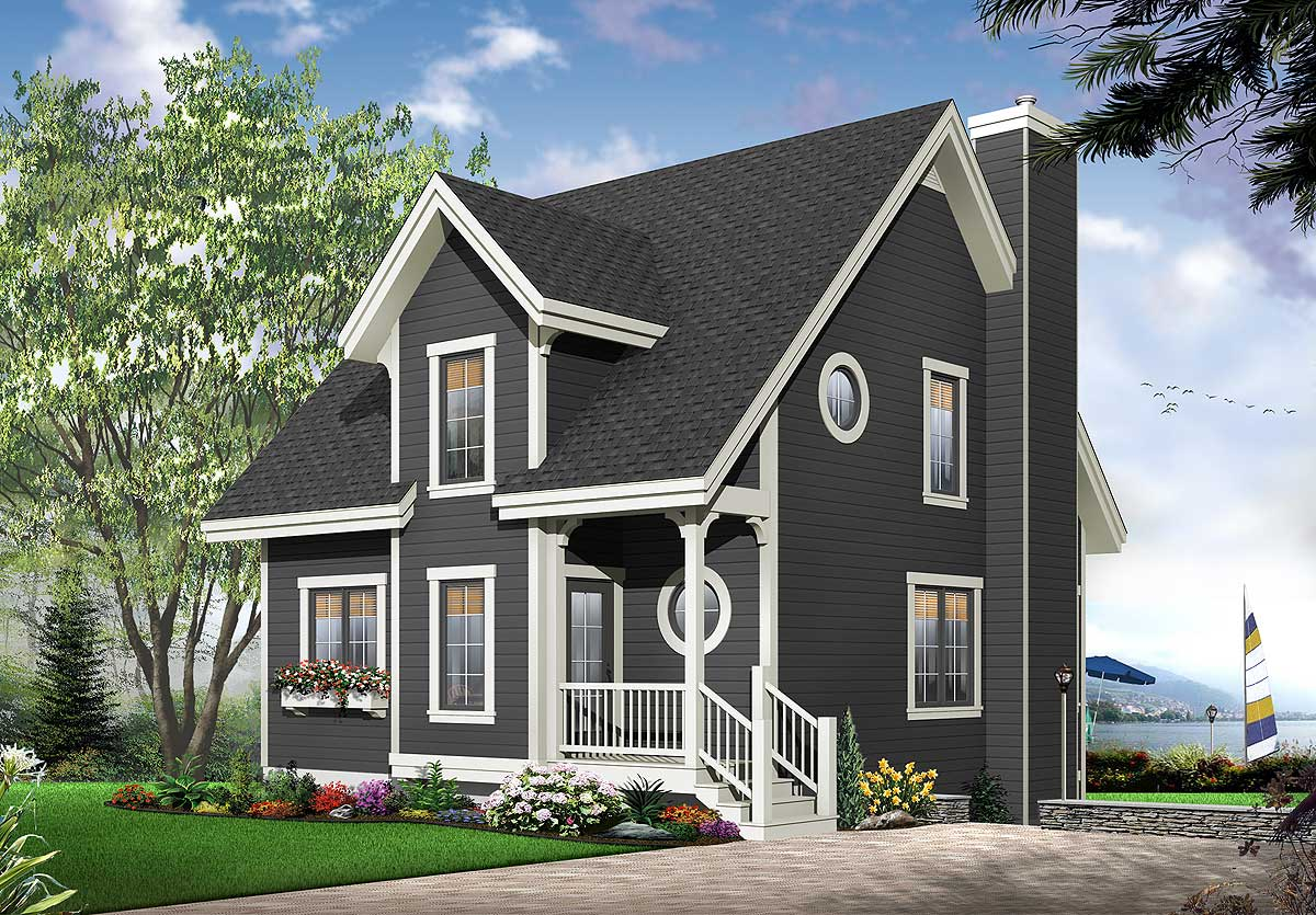 Bright and airy home plan 21539dr architectural for Bright house design