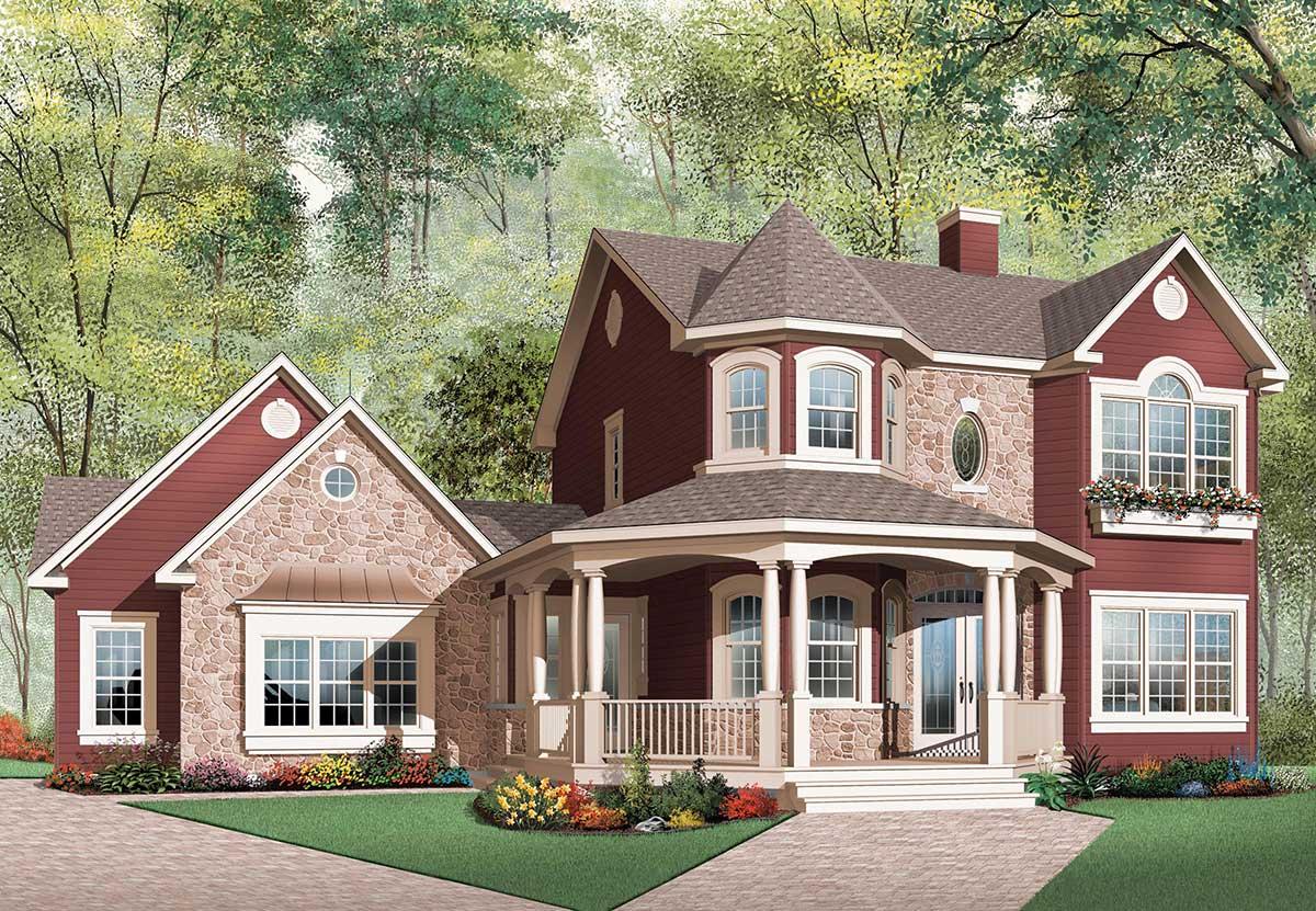 beatiful veranda design 21561dr architectural designs