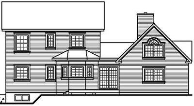 Beautiful Veranda Design - 21562DR thumb - 05