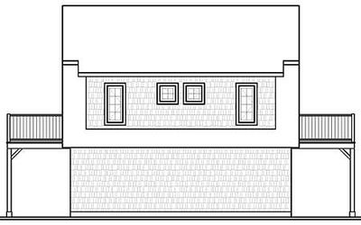 Flexible Carriage House Plan - 21564DR thumb - 02