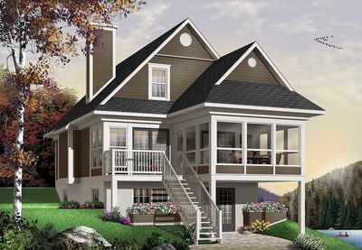 Four Seasons Sloping Lot Cottage - 21571DR thumb - 01