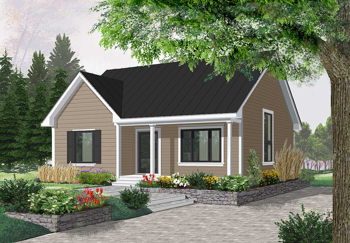 Popular compact cottage 21577dr architectural designs for Compact cottages