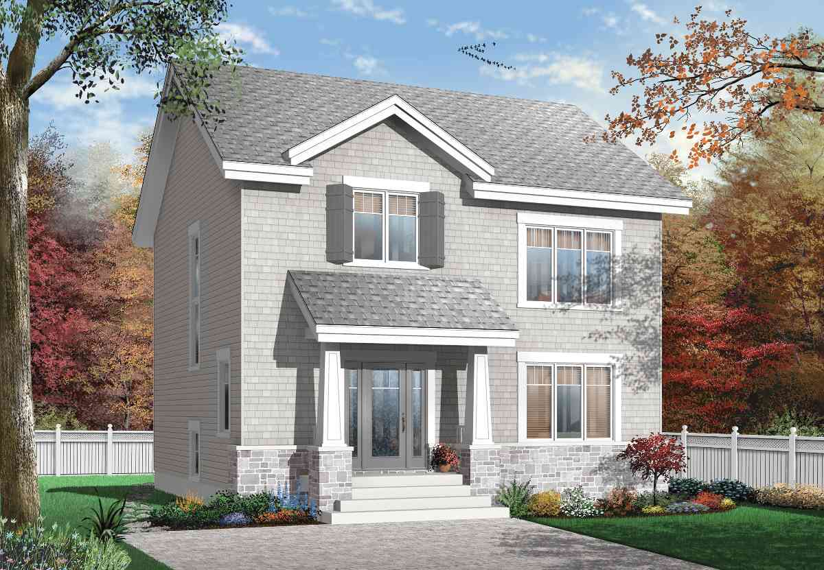Cost effective construction 21587dr architectural for Cost effective homes