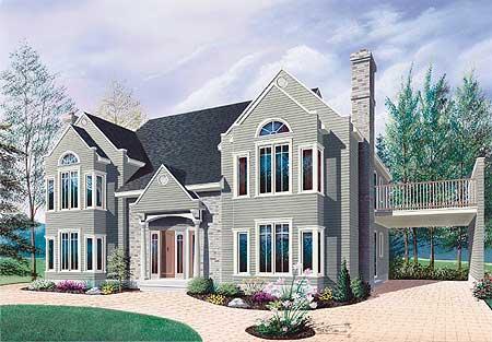 High End Triplex 21600dr Architectural Designs House