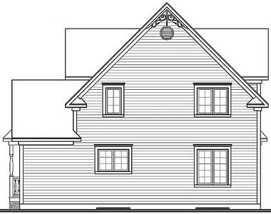 Country Plan with Victorian Detailing - 21623DR thumb - 02