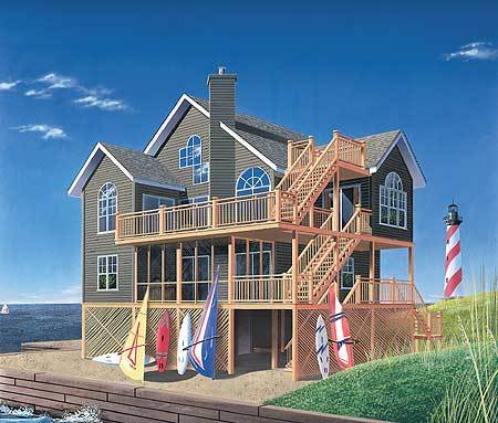 Family vacation home plan 2164dr architectural designs for Vacation home plans