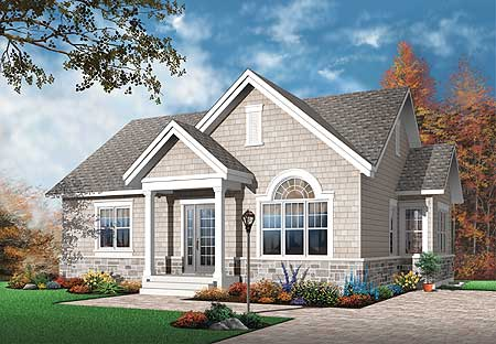 Simple 2 Bedroom House Plan 21271dr Ranch Traditional