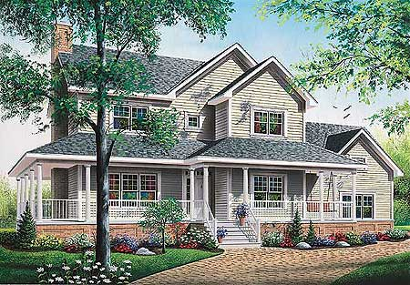 Country living 2176dr architectural designs house plans for American west homes floor plans