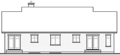 House Plan with In-Law Suite - 21766DR thumb - 02
