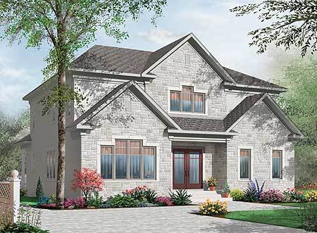 Multi generational house plan 21767dr architectural for Multi generational house plans