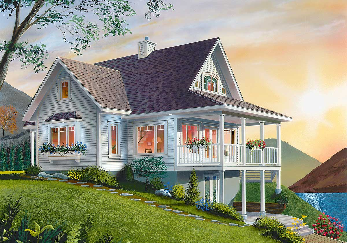 dream design with main floor laundry 21864dr architectural dream design with main floor laundry 21864dr architectural designs house plans