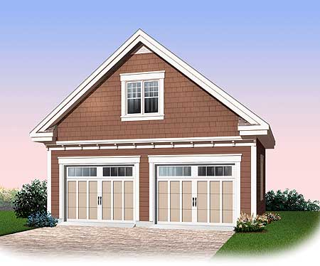 Detached Garage With Storage Bonus 21901dr Cad