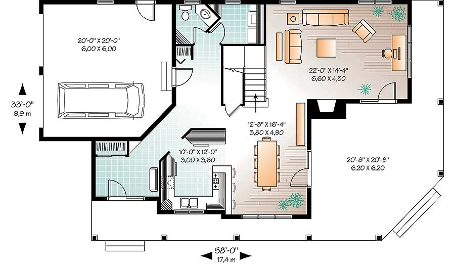 Many Options to Choose From - 21934DR floor plan - Main Level