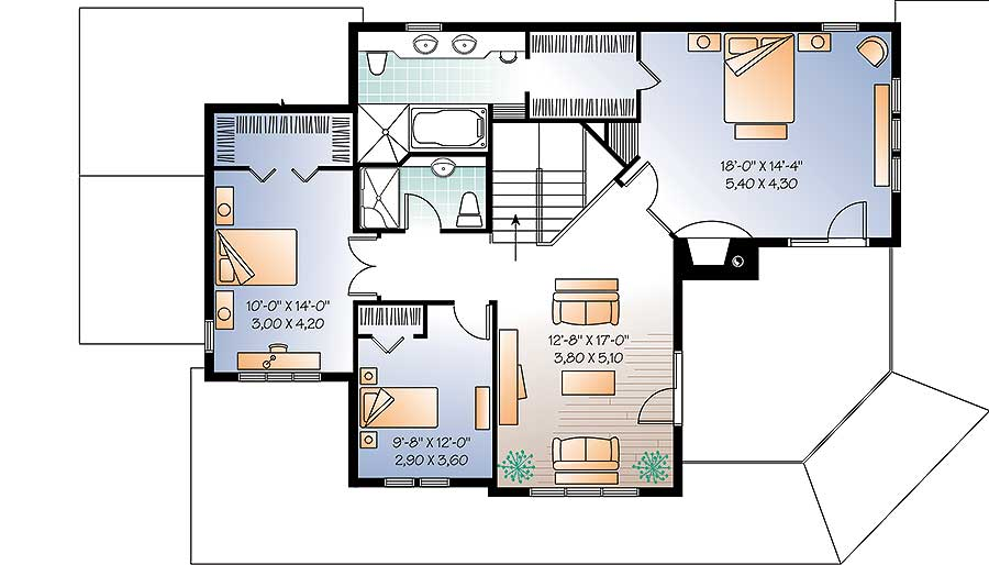 Many Options to Choose From - 21934DR floor plan - 2nd Floor