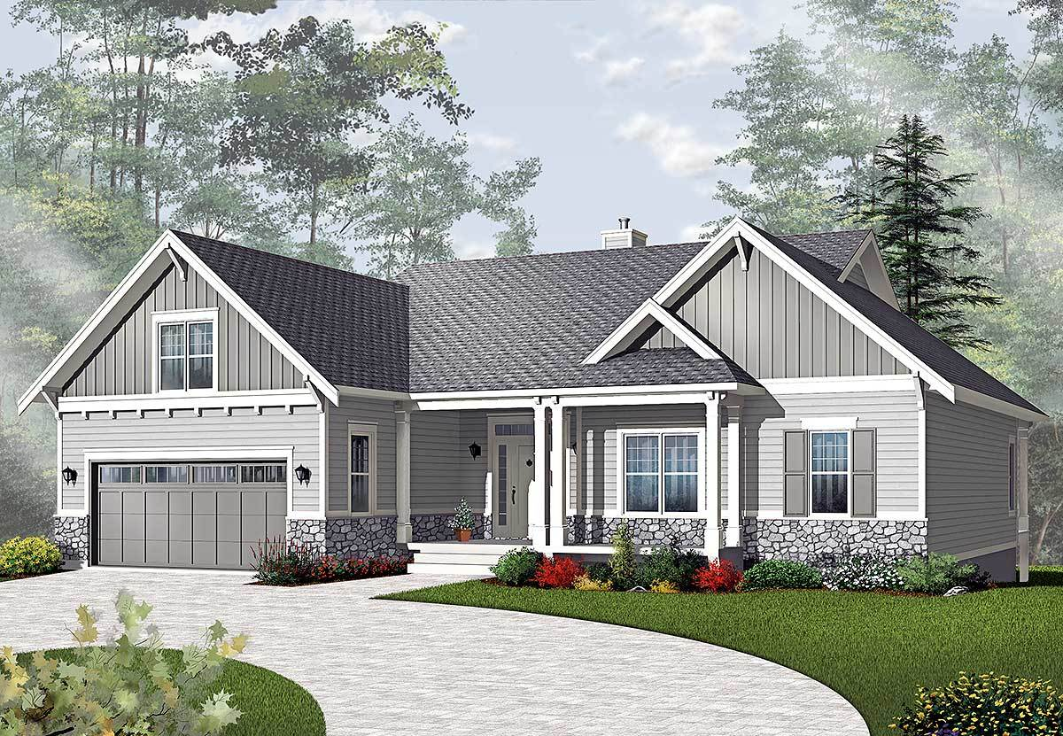 Airy Craftsman Style Ranch 21940dr 1st Floor Master