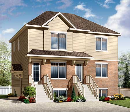 3 family home plan 21946dr architectural designs for 3 family house plans