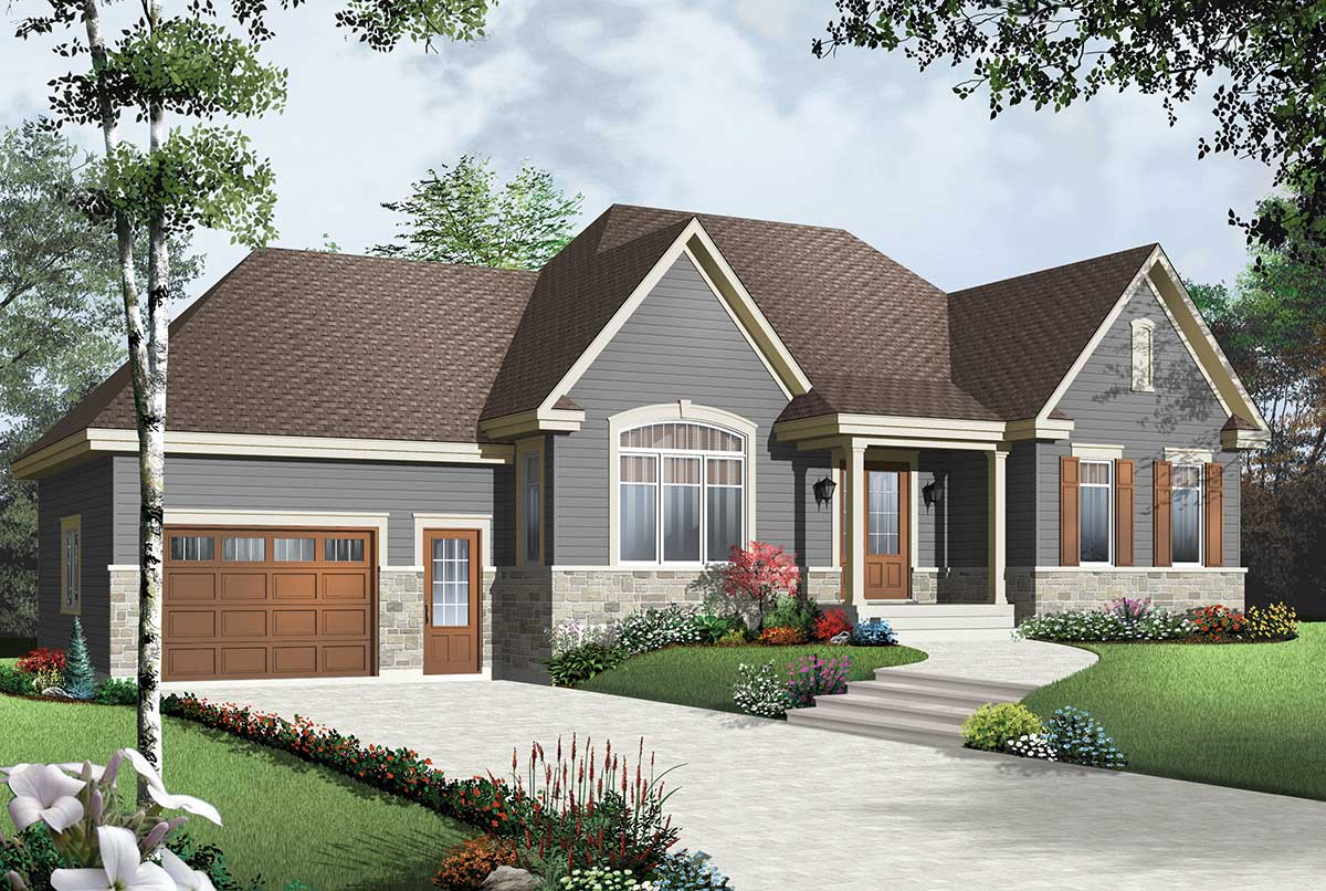 Cozy Bungalow With Attached Garage