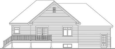Split Level Home Plan with Lower Level - 21948DR thumb - 02
