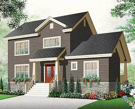 Cost effective with options 21957dr architectural for Cost effective home plans