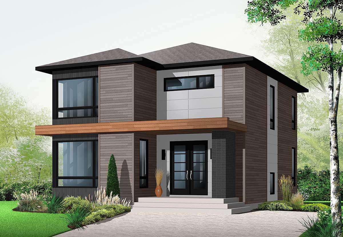 Stately modern 21998dr 2nd floor master suite cad for Garage ad orleans
