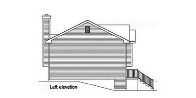 Cozy Split-Level Home Plan - 22003SL thumb - 04