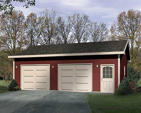 Detached drive thru garage plan 22049sl cad available for House plans with drive through garage