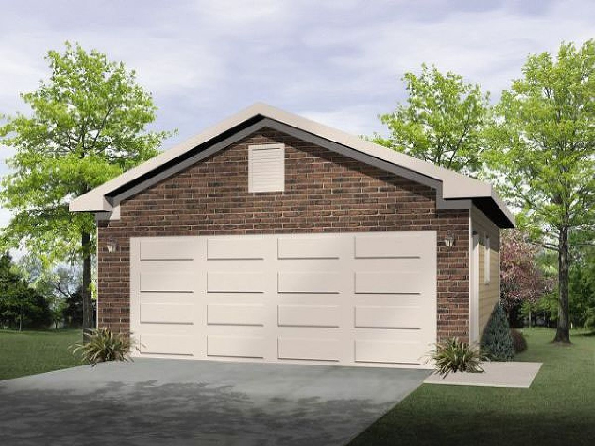 Drive through garage 22066sl architectural designs for Drive through garage door