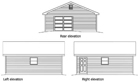 Drive Through Garage 22066sl Cad Available Pdf