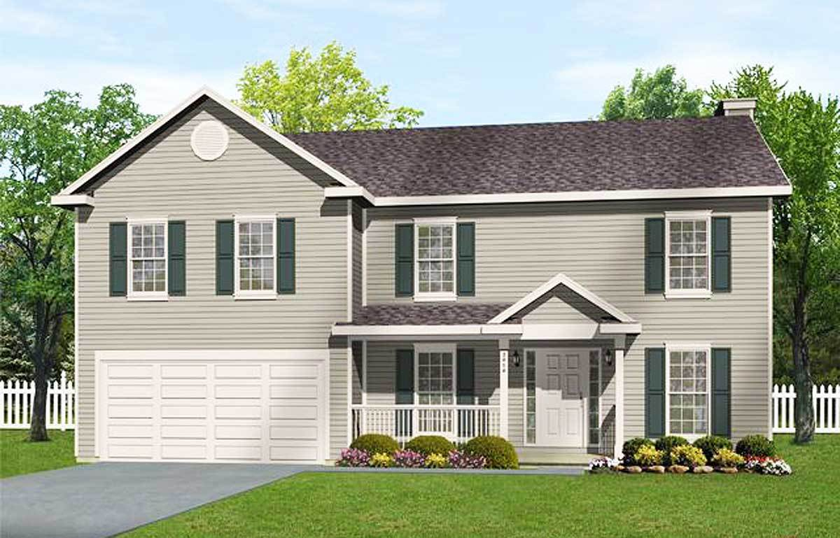 economical 2 story home plan 2208sl architectural designs economical 2 story home plan 2208sl 01