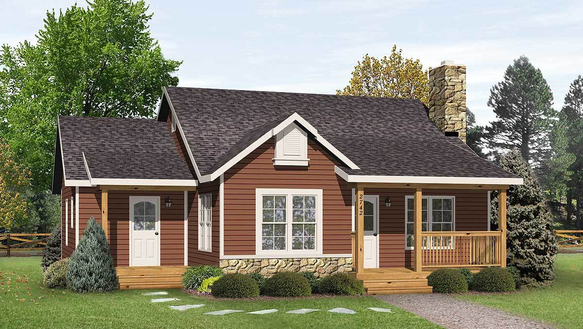 Simple country cottage 22081sl architectural designs for Simple country home plans