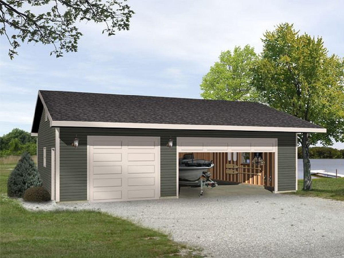 Versatile Garage Plan 22098sl Cad Available Pdf