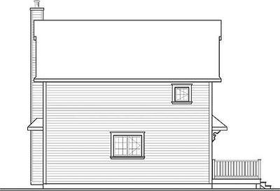 Open Floor Plan for Narrow Lot - 22319DR thumb - 02